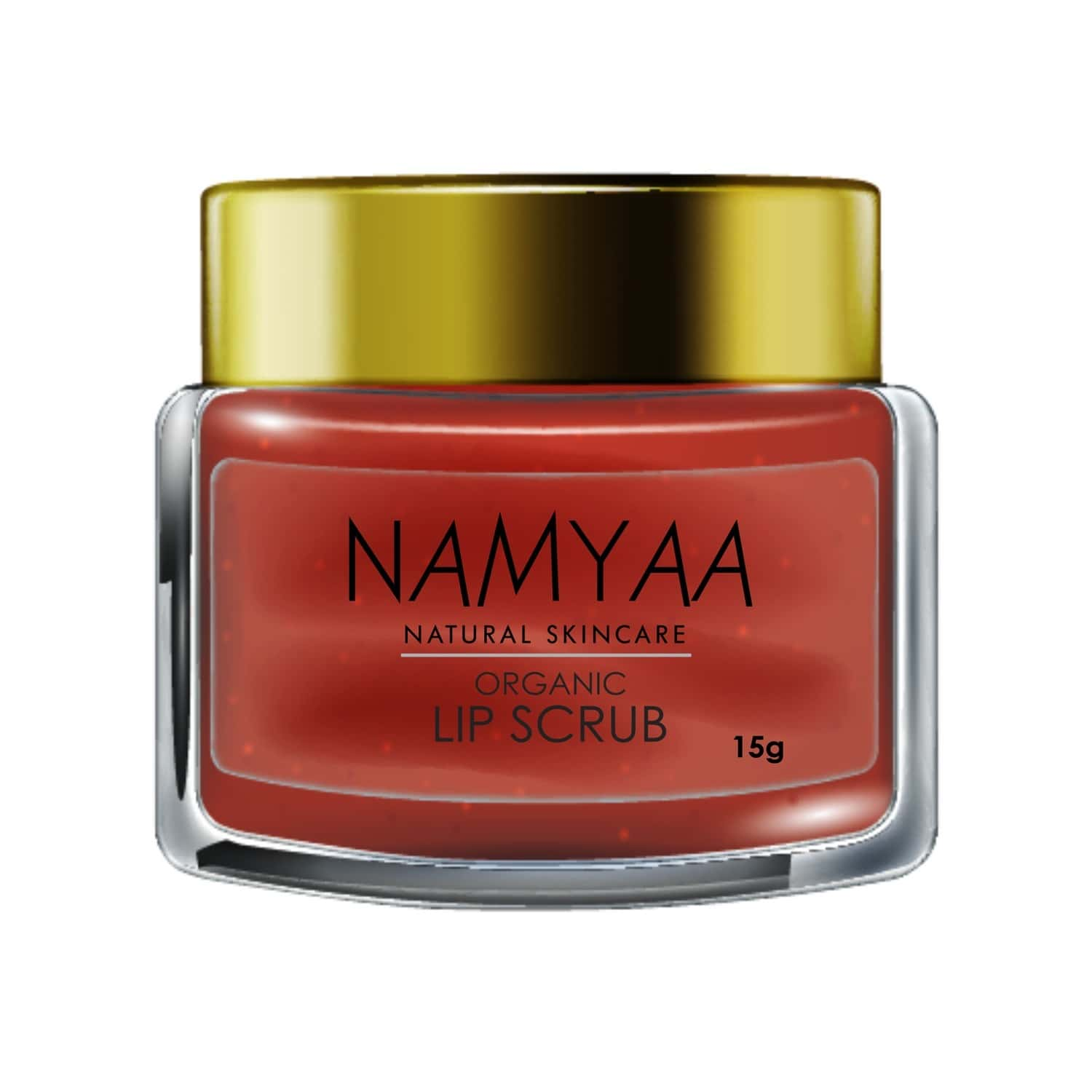 Namyaa Organic Lip Scrub, Coconut, Glycerin And Other Natural Ingredients, Softens Smooth Exfoliates Lips - 15 G