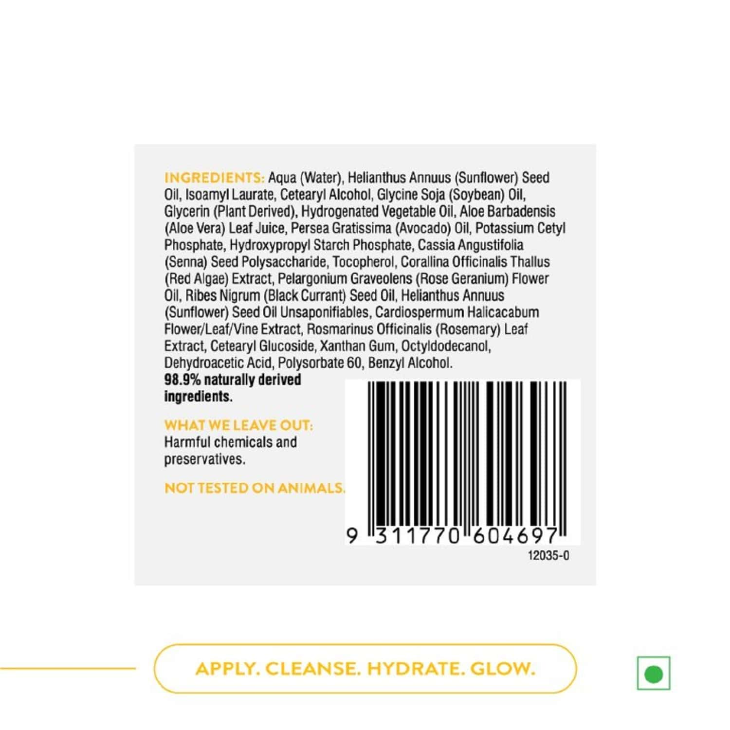 Swisse Sc Hyaluro-natural Intensive Hydrating Mask - 50gm