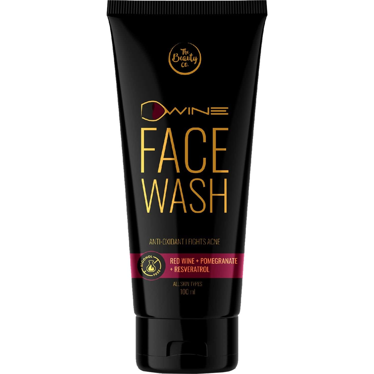 The Beauty Co. D`wine Face Wash With Red Wine, 100ml