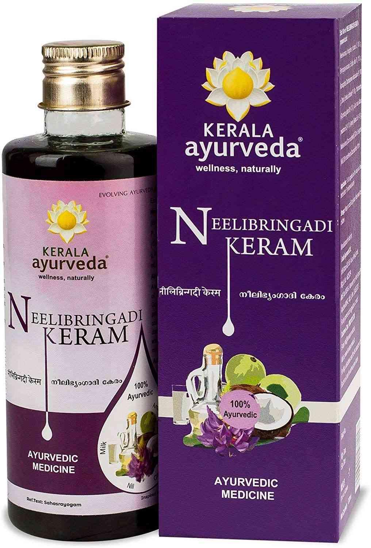 Kerala Ayurveda Neelibringadi Keram Hair Oil Bottle Of 200 Ml
