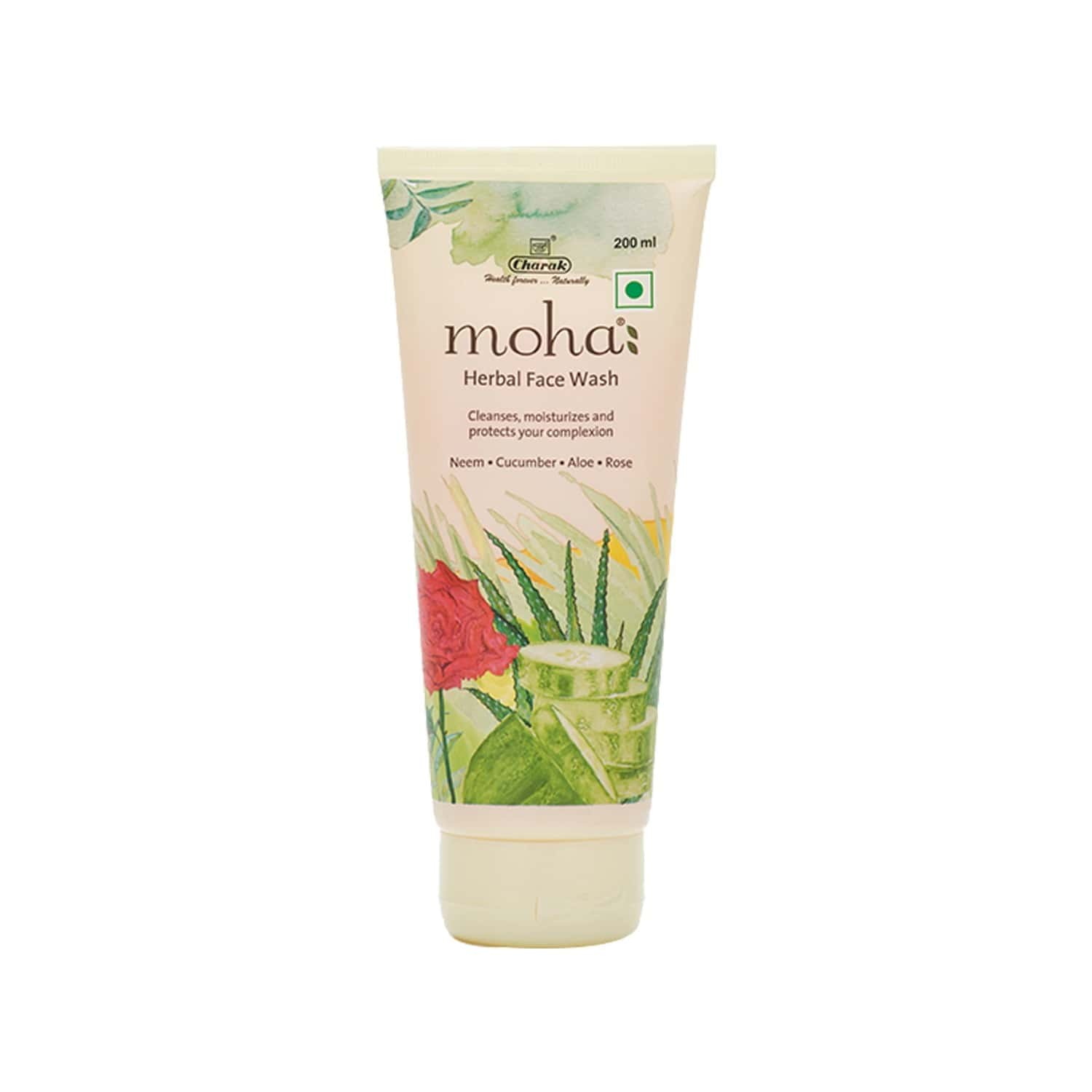 Moha Herbal Face Wash Tube Of 200 Ml