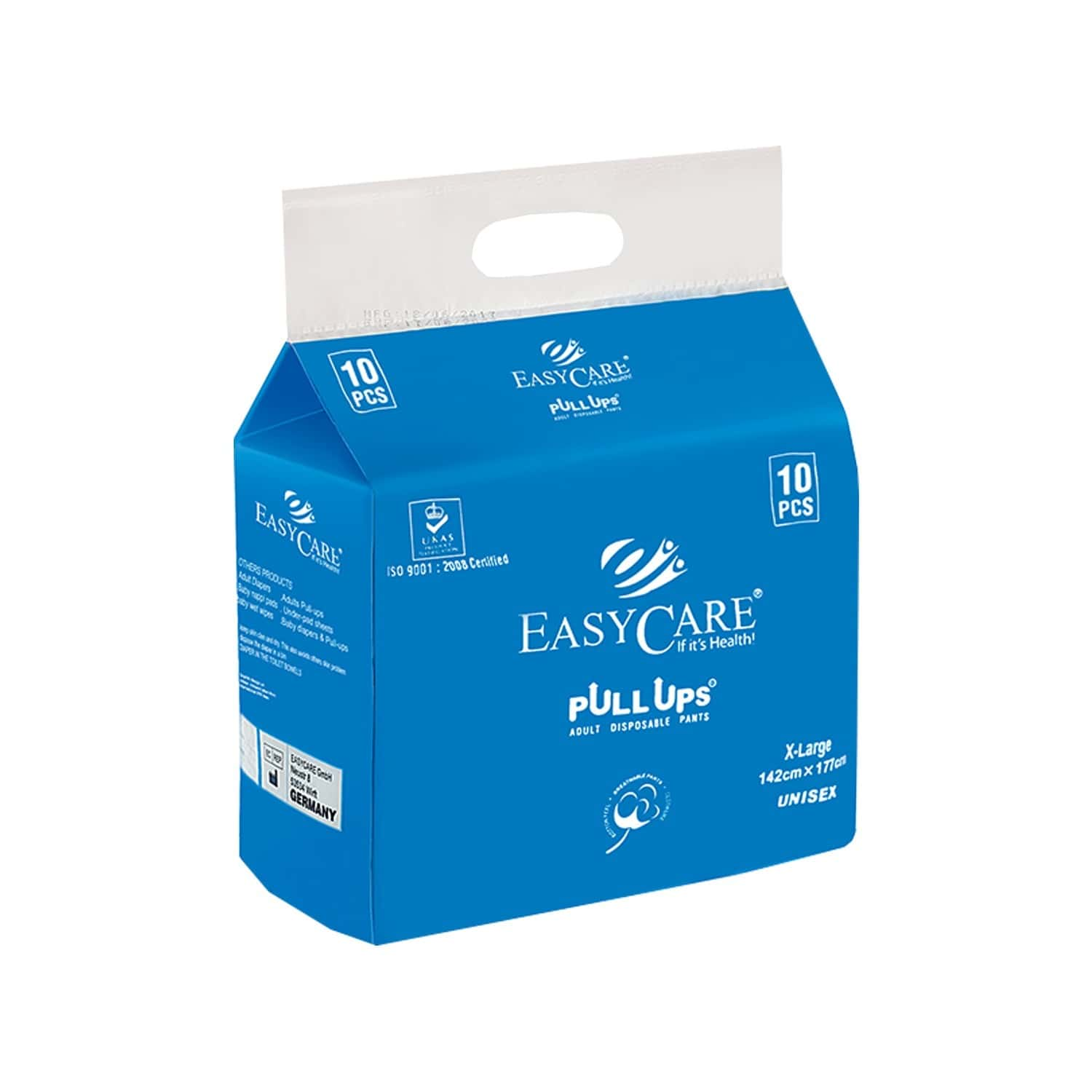 Easycare Disposable Adult Diaper Pants (pull Up)pack Of 10 X-large (142 X 177 Cm) Fit & Flex Makes Life Easier