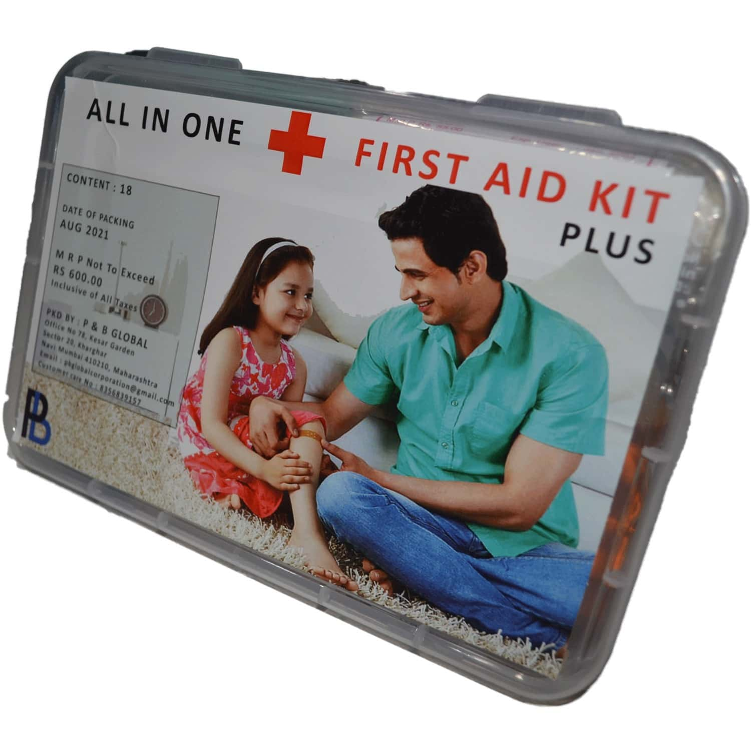All In One First Aid Kit Plus