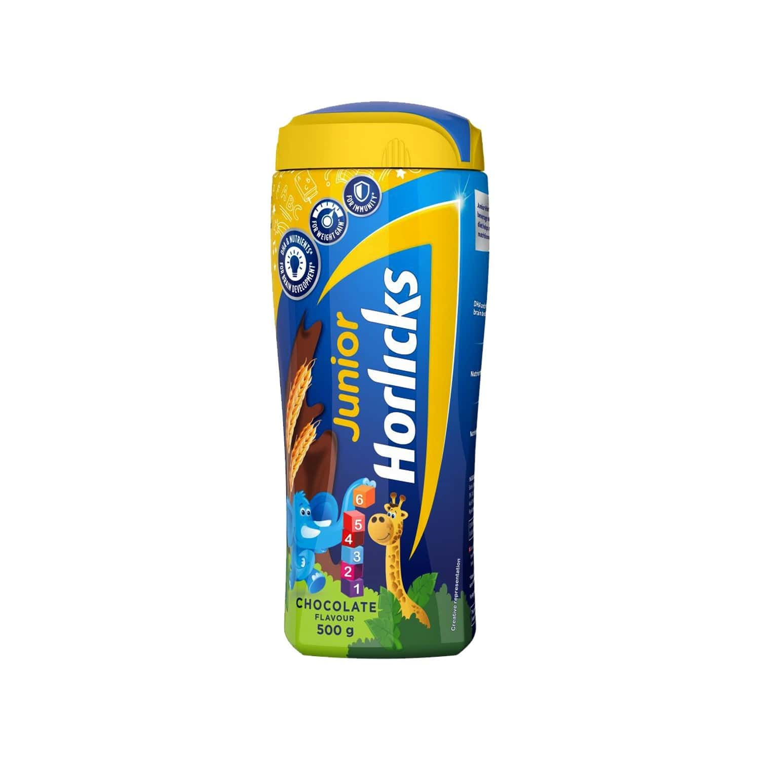 Horlicks Junior Health & Nutrition Drink Chocolate - 500 G