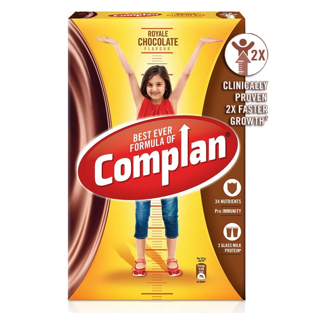 Complan Royale Chocolate Nutrition Drink Box Of 750 G