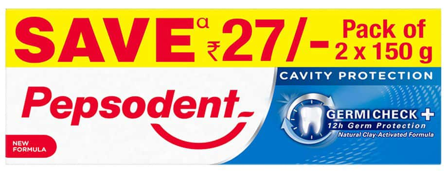 Pepsodent Germi Check Toothpaste 25 Gm