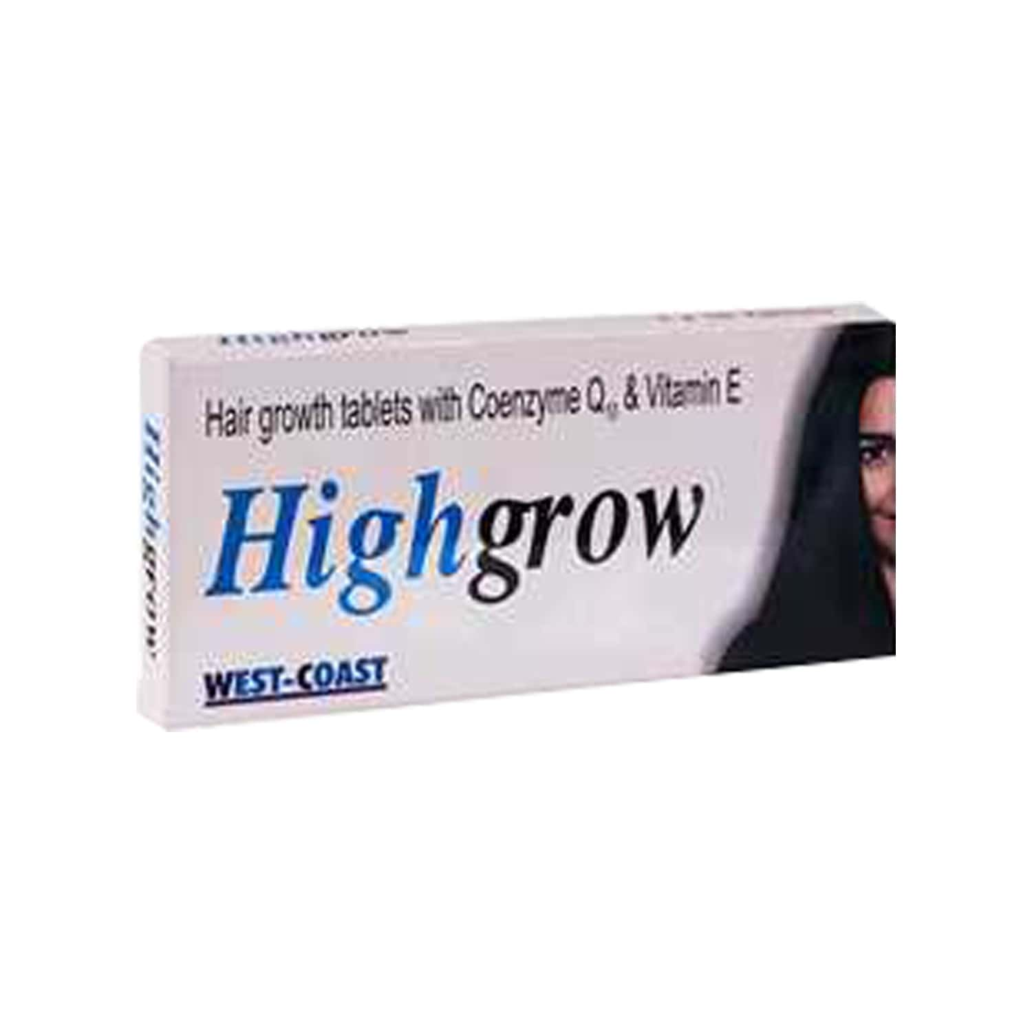 Highgrow  Hair Growth Tablets  Bottle Of 30 (pack Of 3)
