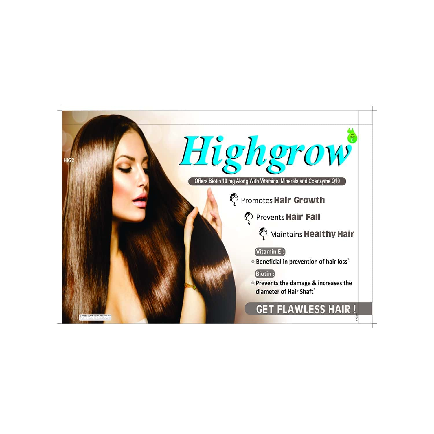 Highgrow Hair Growth Tablets Of 30 (pack Of 3)