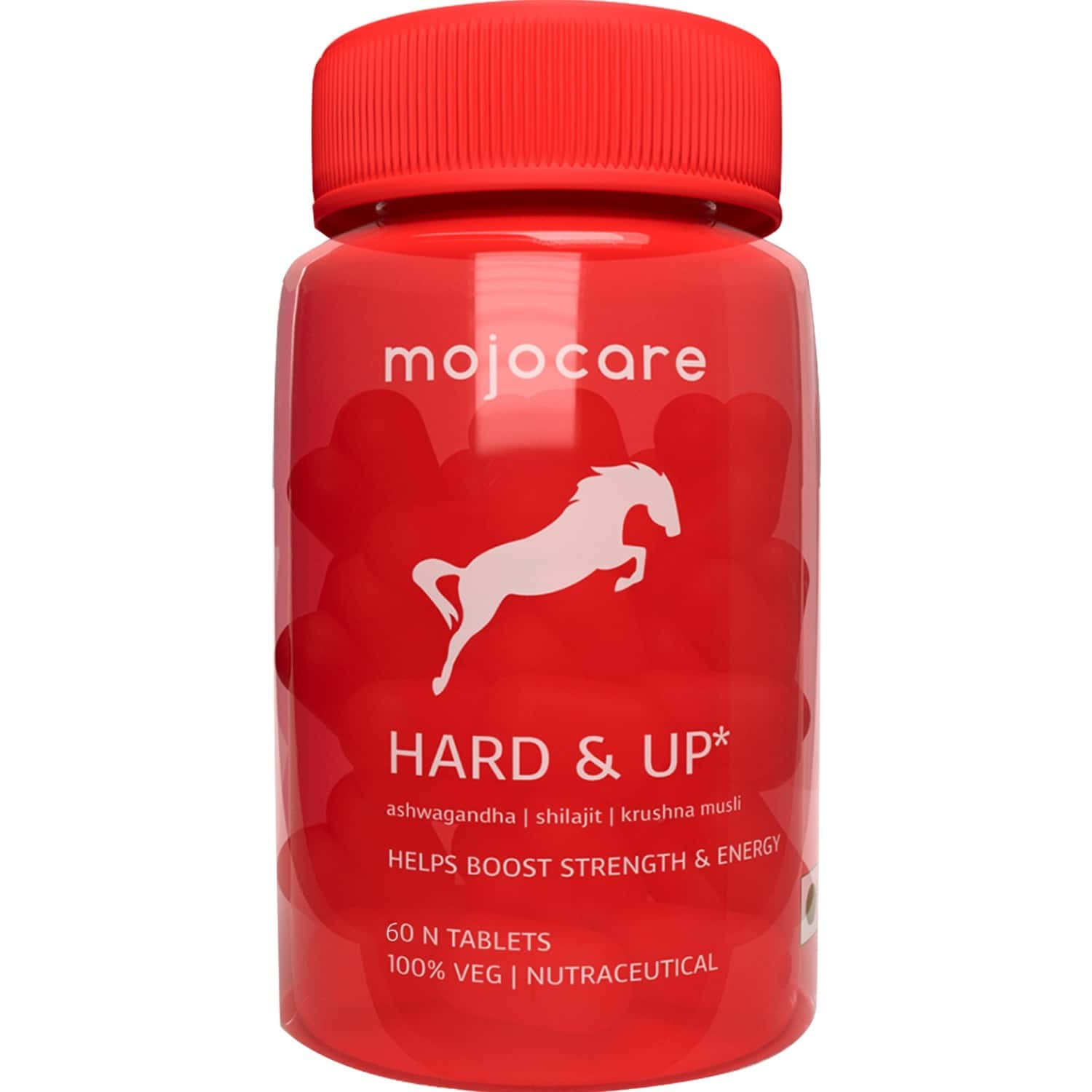 Mojocare Hard And Up For Strength And Endurance Pack Of 1x 60 Tablets