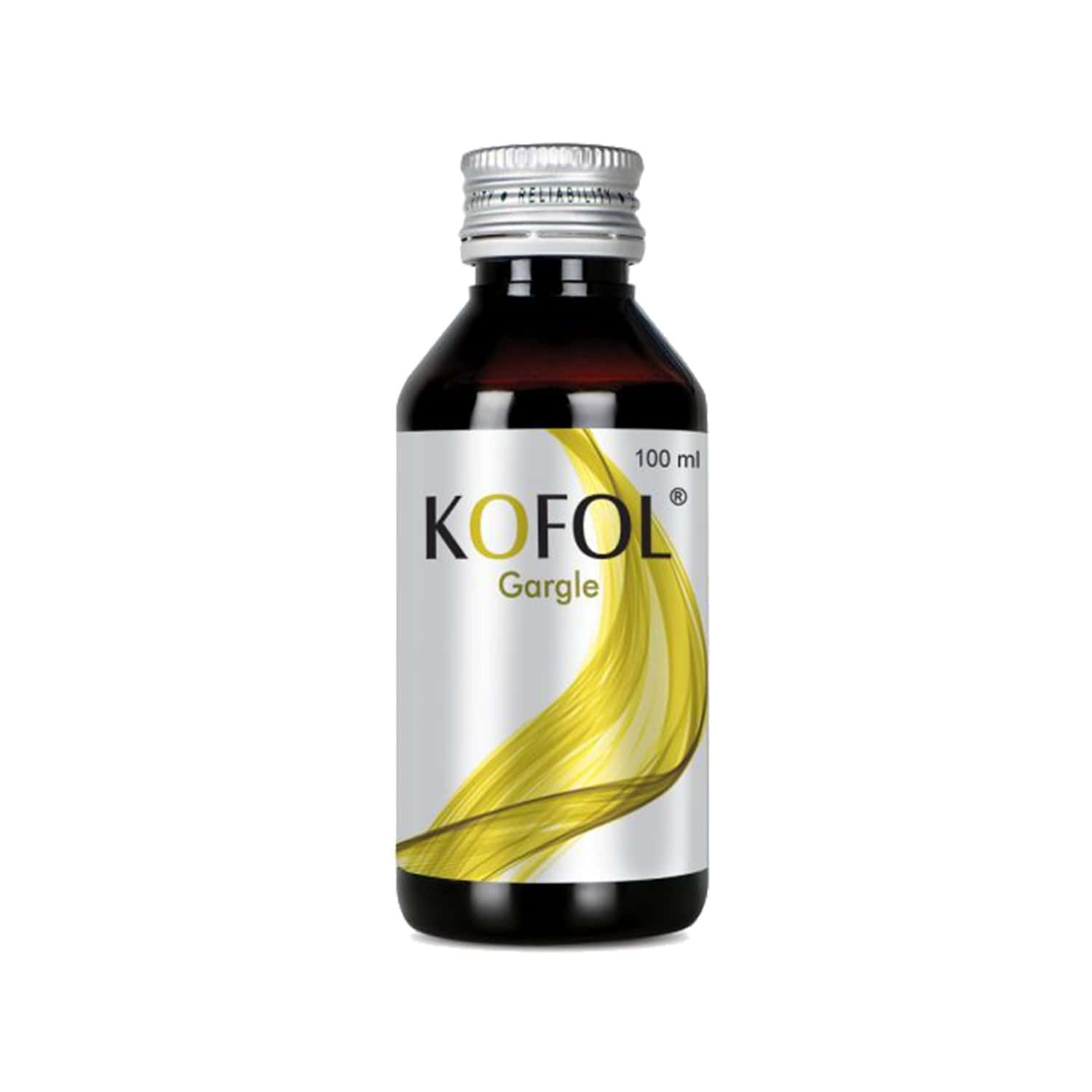Kofol Gargle Throat Relief Syrup Bottle Of 100 Ml