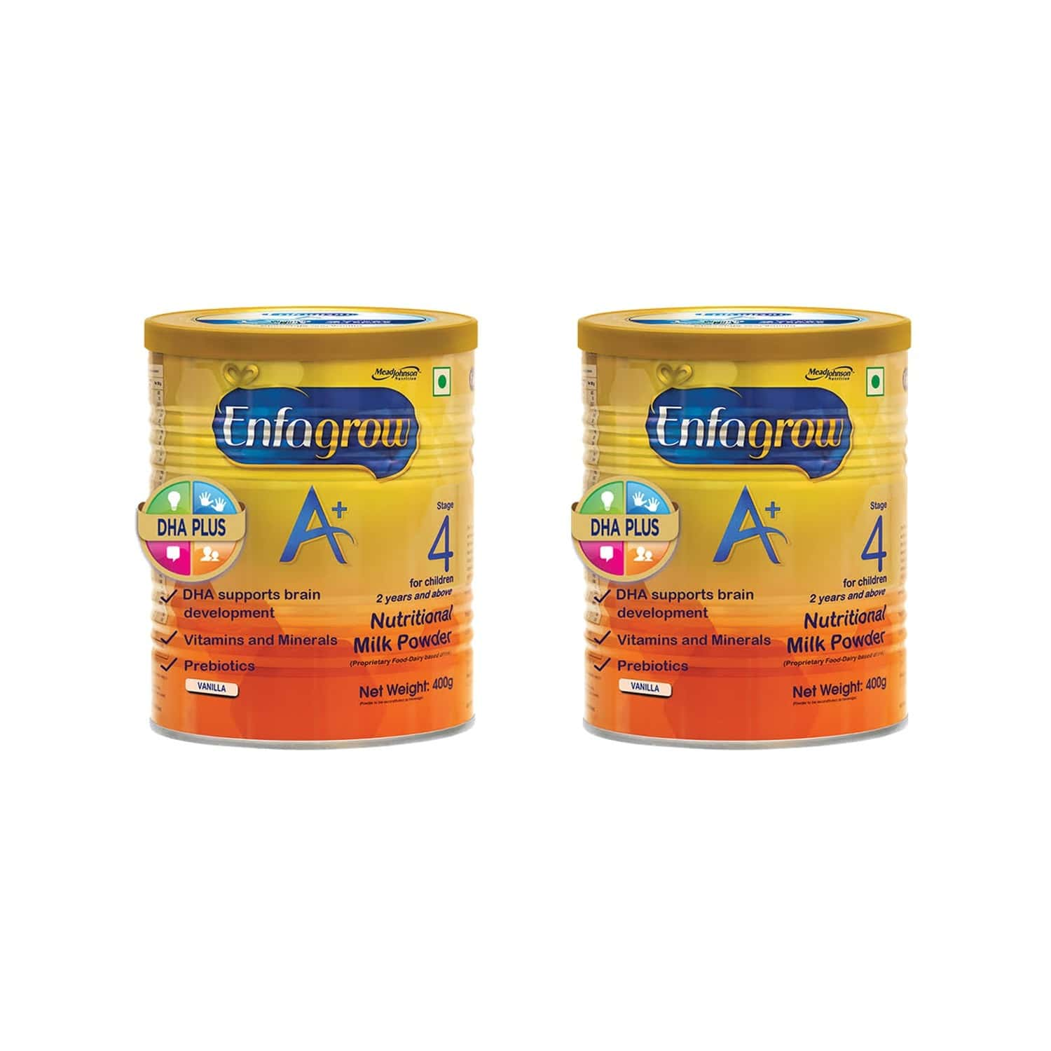 Enfagrow A+ Vanilla Child Nutrition Drink Stage 4 (2 Years And Above) Refill Of 400 G Buy 1 Get 1 Free