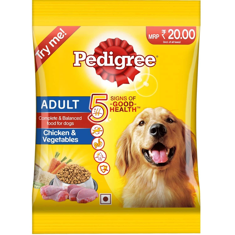 Pedigree Chicken & Vegatable Adult 90g