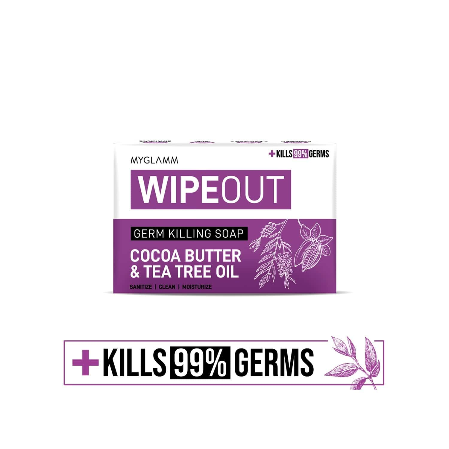 Wipeout Germ Killing Soap - 75g