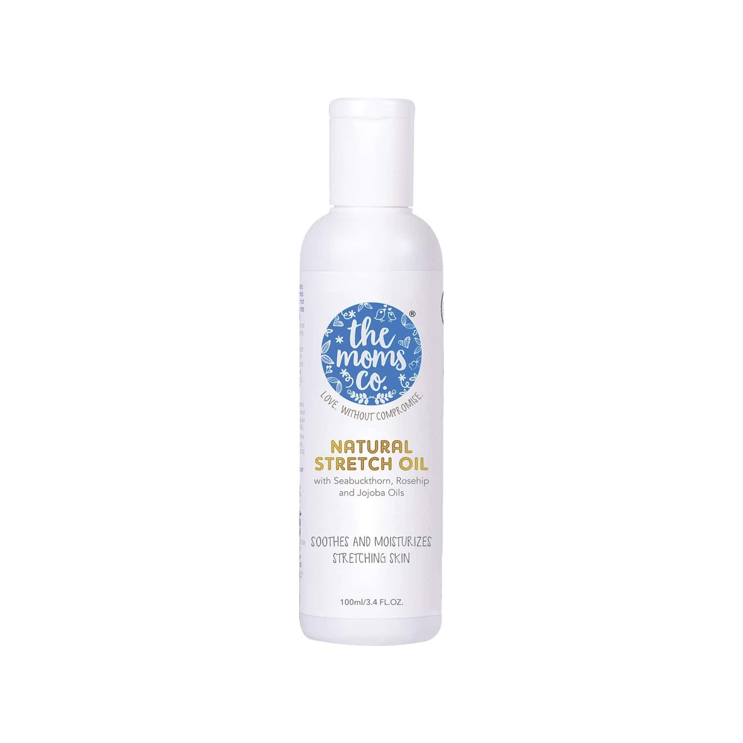 The Moms Co. Natural Stretch Oil Bottle Of 100 Ml