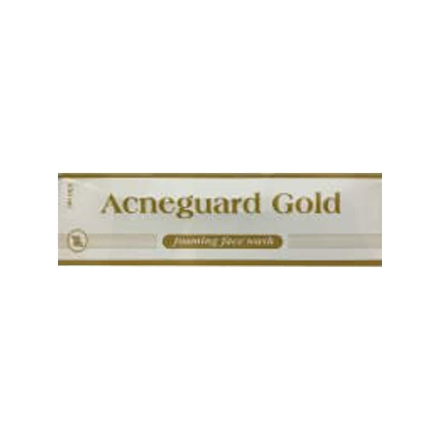 Acneguard Gold  Foaming Face Wash  Tube Of 150 Ml