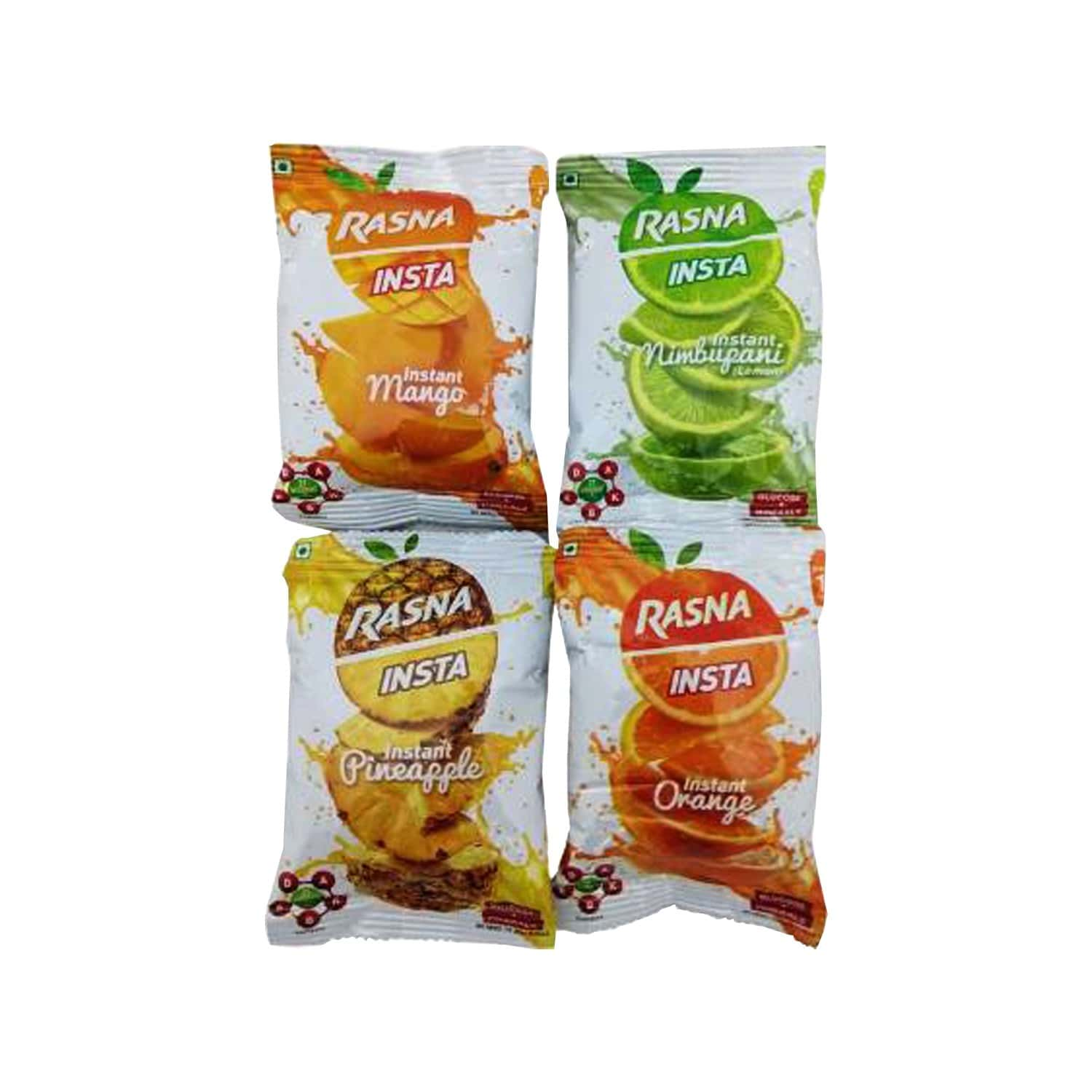 Rasna Insta Drink Concentrate Mix 100g X 4 - Free 1 Litre Sipper