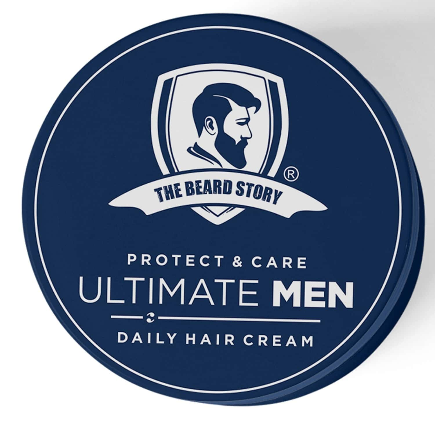 The Beard Story Protect & Care Ultimate Men , Daily Hair Cream - 100 Gm