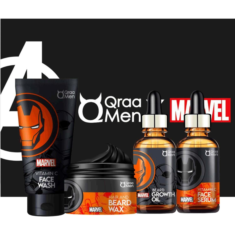 Qraamen Iron Man Frame Freezer - Anti Ageing Kit For Men