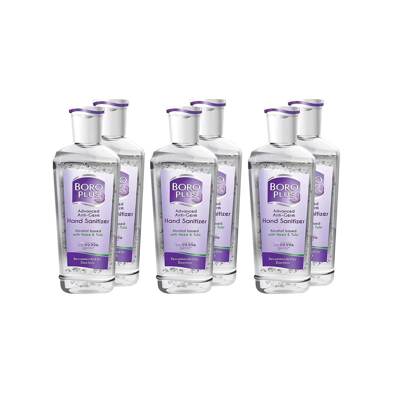 Boro Plus  Hand Sanitizer  Bottle Of 200 Ml (pack Of 6)