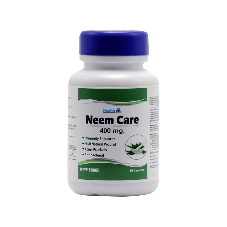 Healthvit Neemcare Neem Powder 400 Mg -60 Capsules
