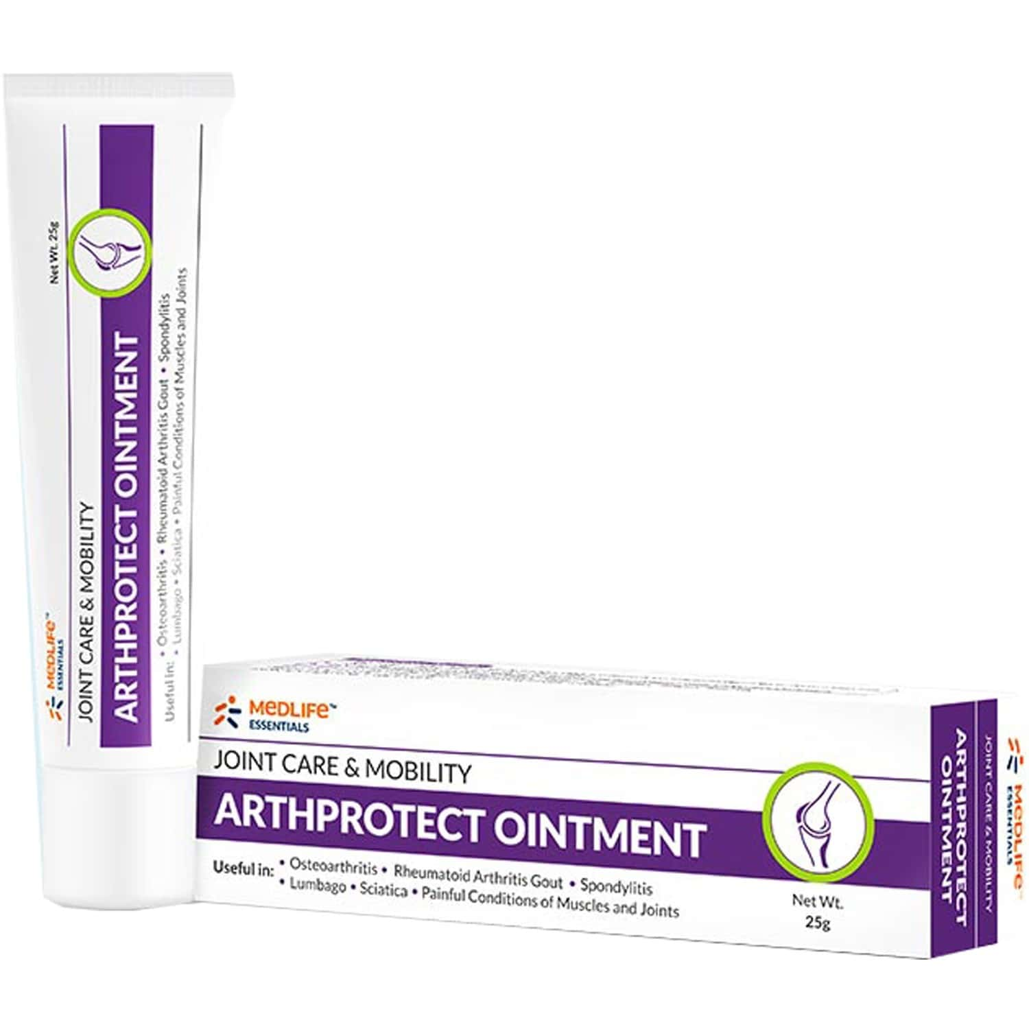 Medlife Essentials Arthprotect Ointment 25 Gm