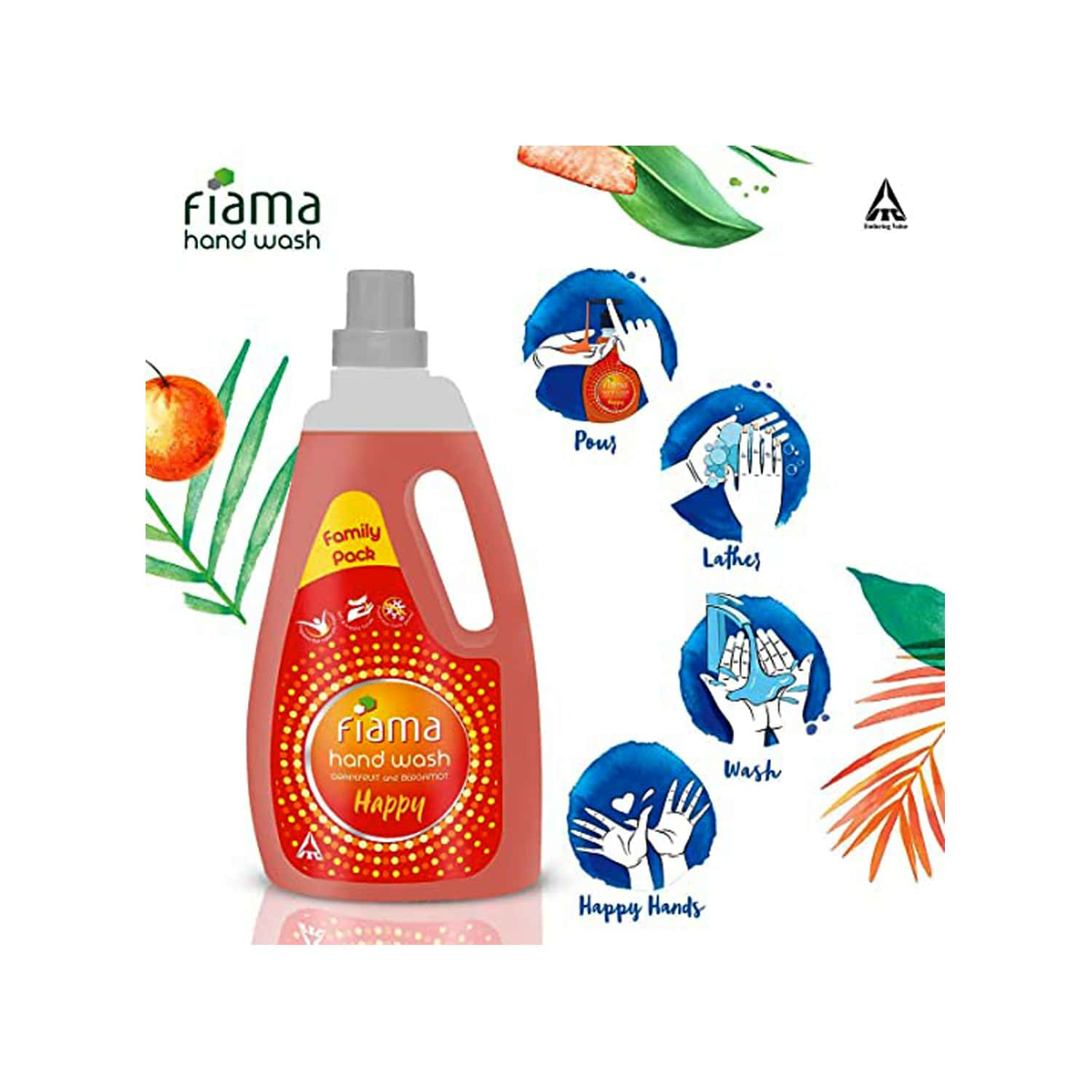Fiama Happy Handwash Bottle Of 1000 Ml