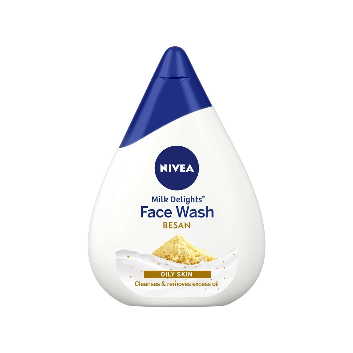 Nivea Milk Delights Gramflour Facewash - 100 Ml