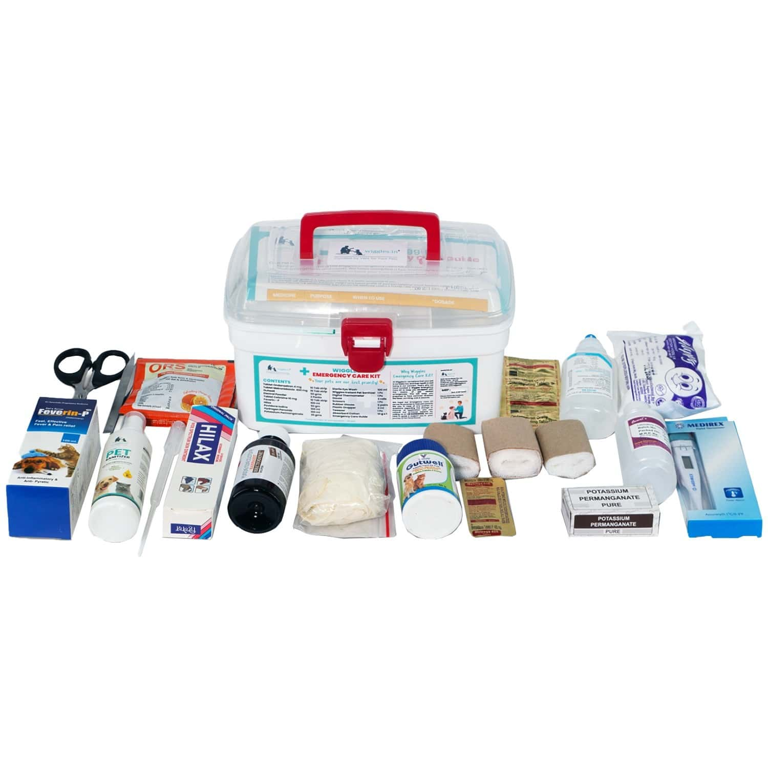 Wiggles Emergency Care Kit (dogs & Cats)