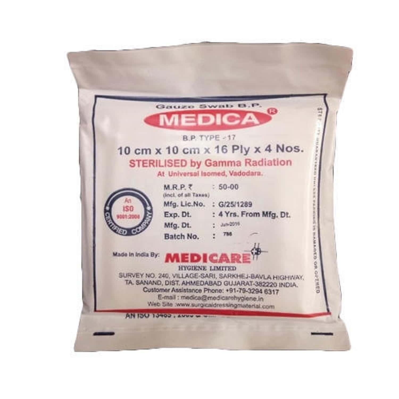 Medica Gauze 10 Cm