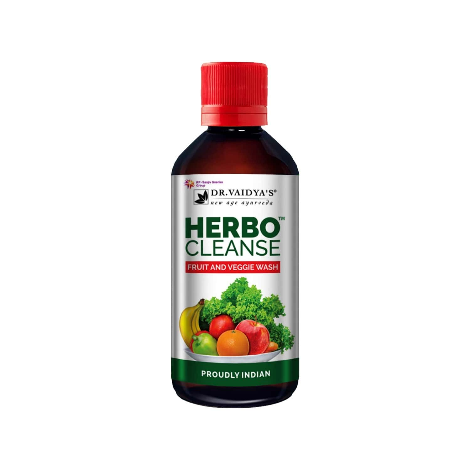 Dr. Vaidya's Herbocleanse Fruit And Veggie Wash |additional Cleanser For Fruits And Vegetables | 200 Ml Each (pack Of 2)