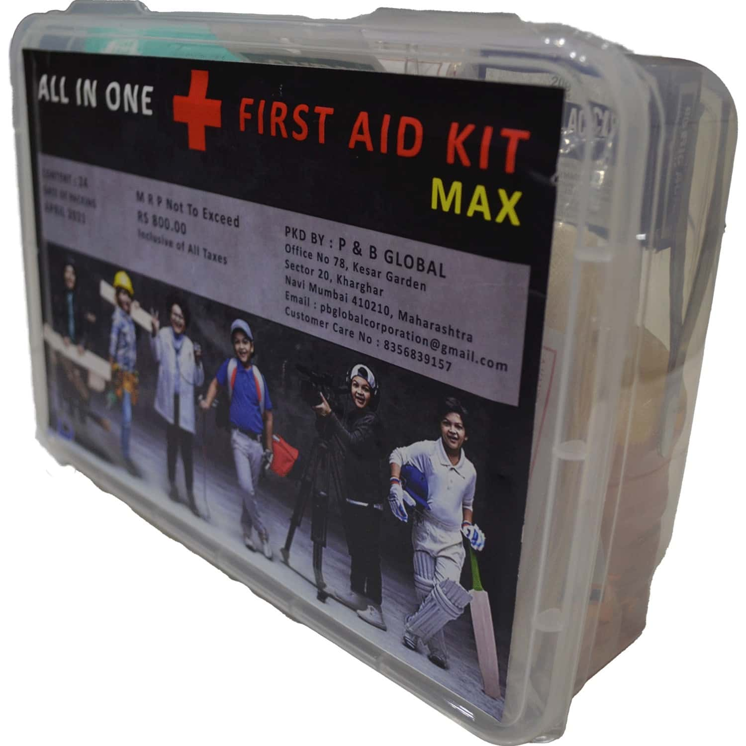 All In One First Aid Kit Max