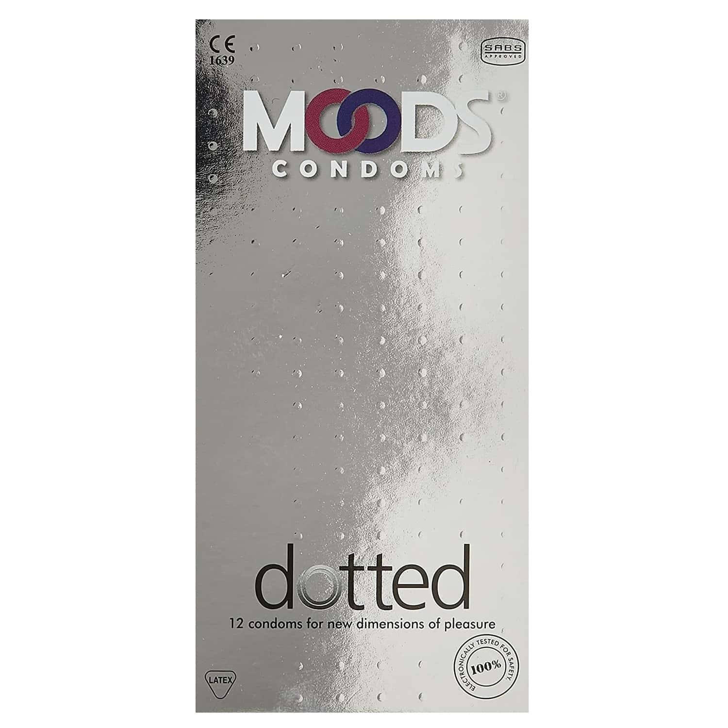 Moods Dotted Condom 12