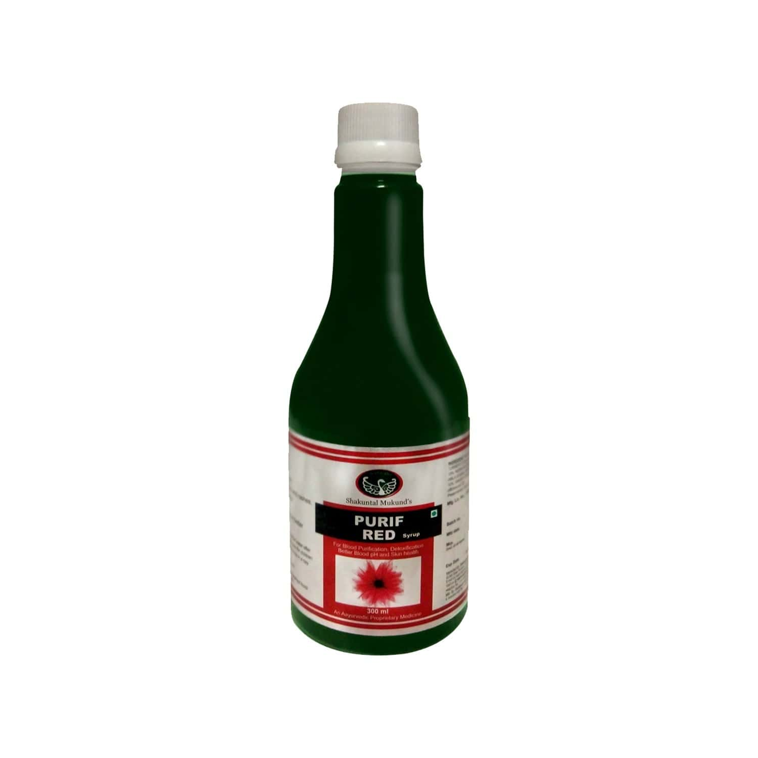 Smw's Purif Red Blood Purifier Syrup Bottle Of 300 Ml