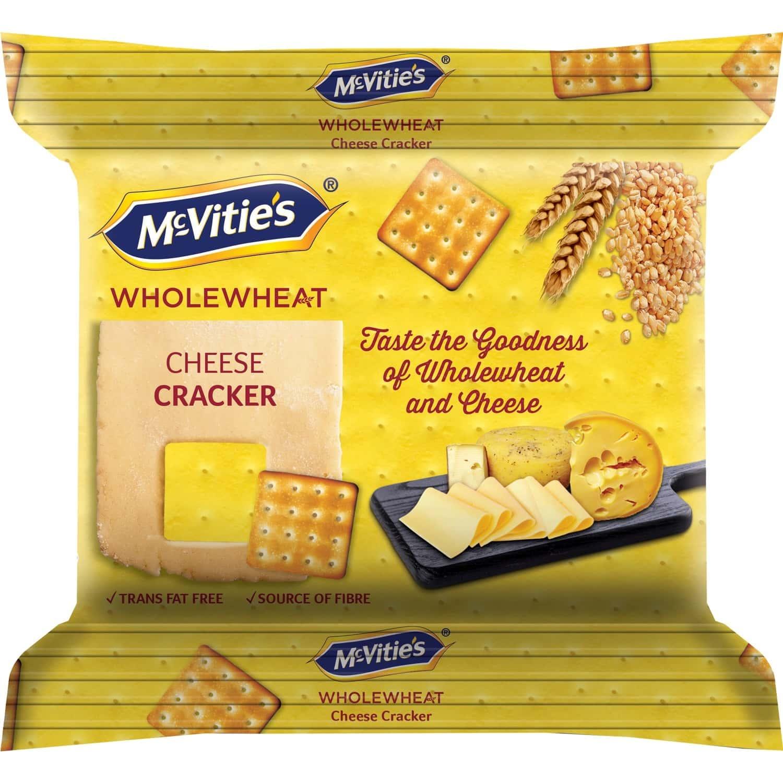 Mcvities Cracker Cheese 120g