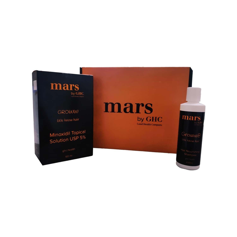 Antihairfall Kit Pack For Men (minoxidil 5% Topical+shampoo) hairfall Kit- 260 Ml