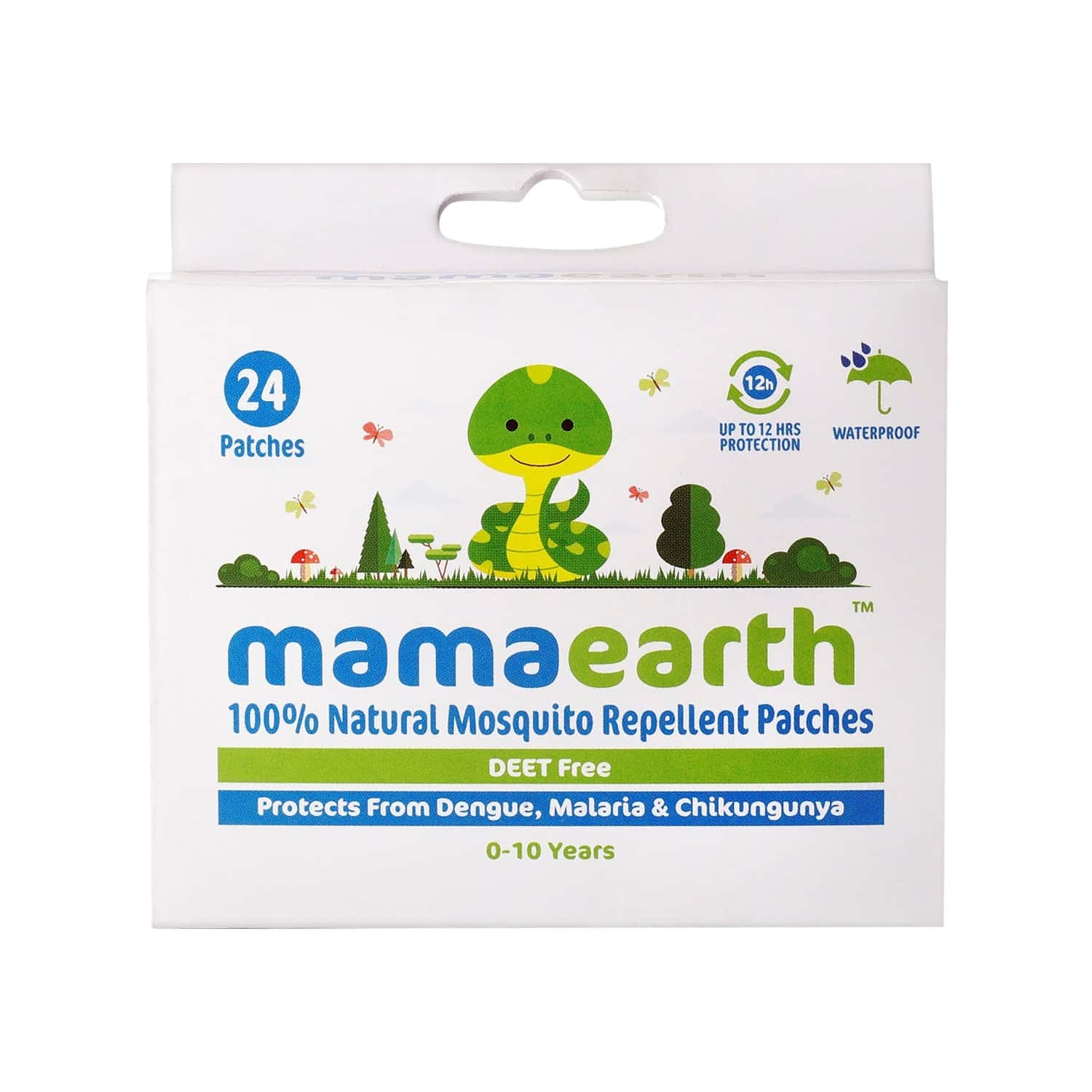 Mamaearth Natural Anti Mosquito Patch Box Of 24