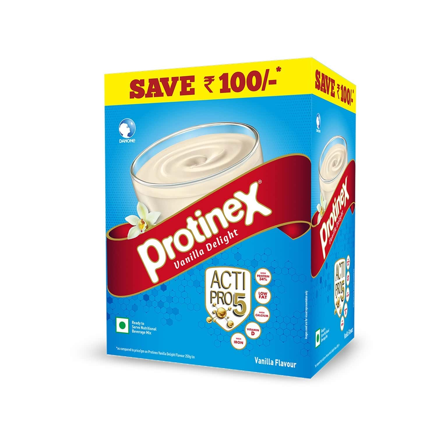 Protinex Vanilla Nutrition Drink Box Of 750 G