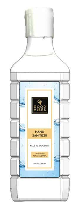 Good Vibes Hand Sanitizer(300 Ml)