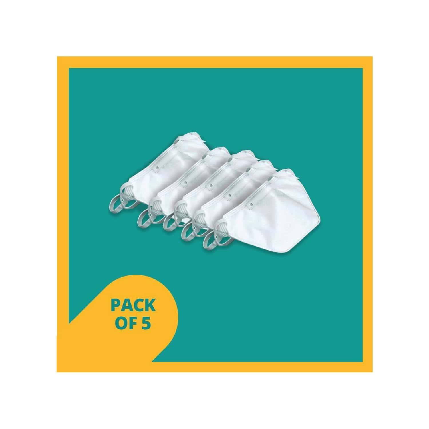 Duckbill Shape N95 Mask Packet Of 5