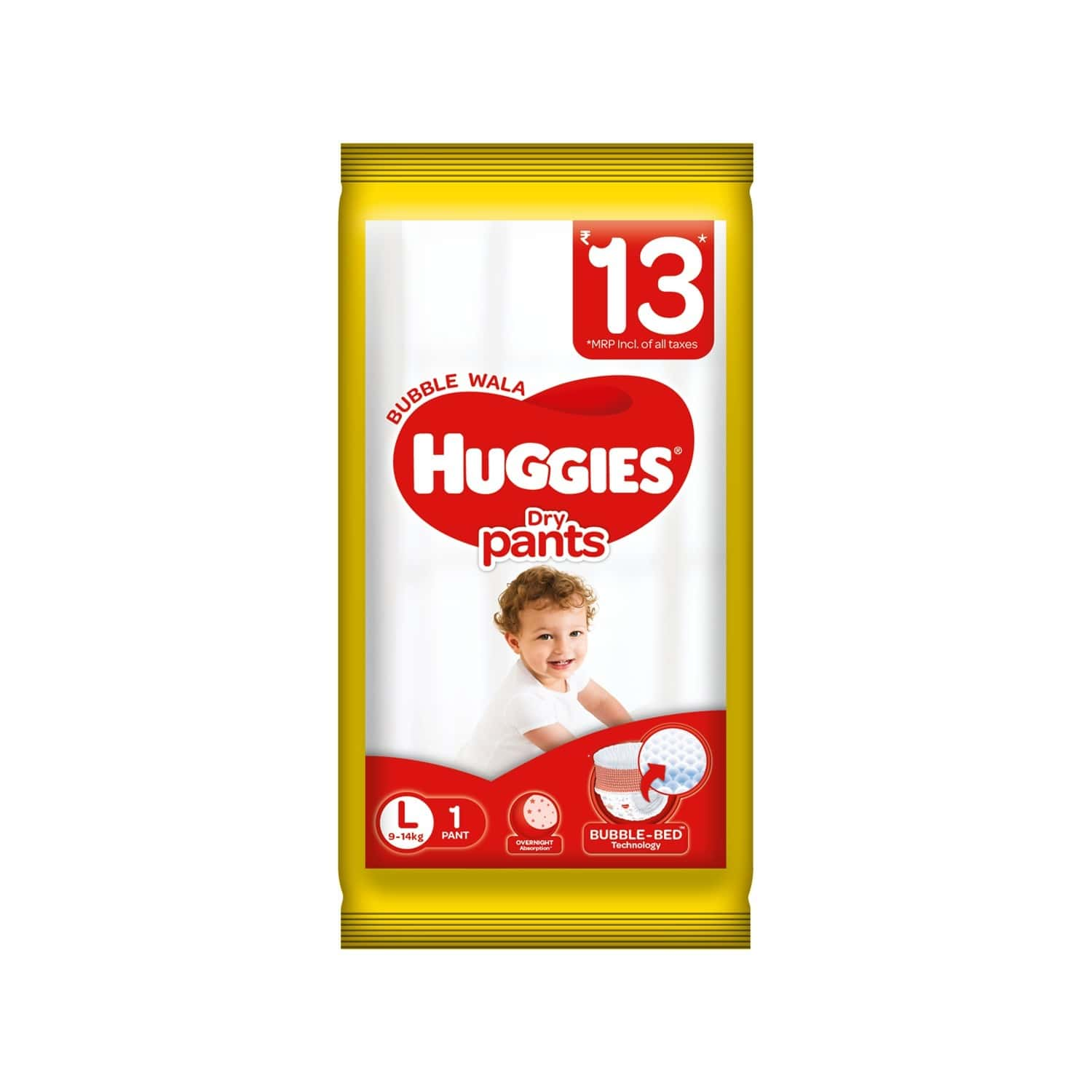 Huggies Dry Pants Diapers ( Large Size) - 1 Count