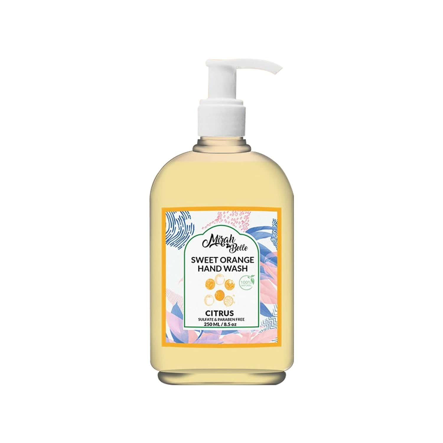 Mirah Belle Sweet Orange Hand Wash (citrus) - 250ml