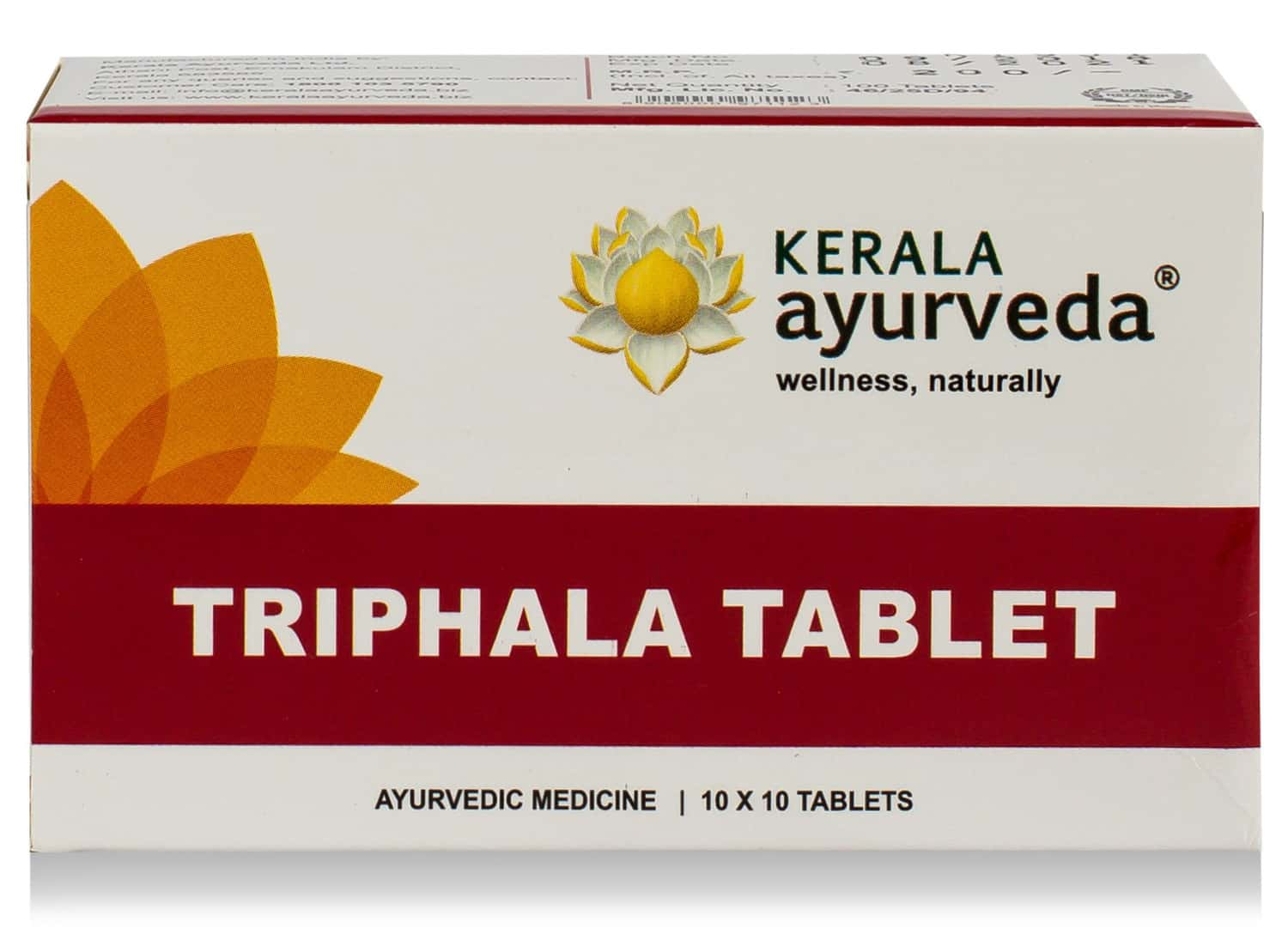 Kerala Ayurveda Triphala Tablet - 50 Nos - Pack Of 2