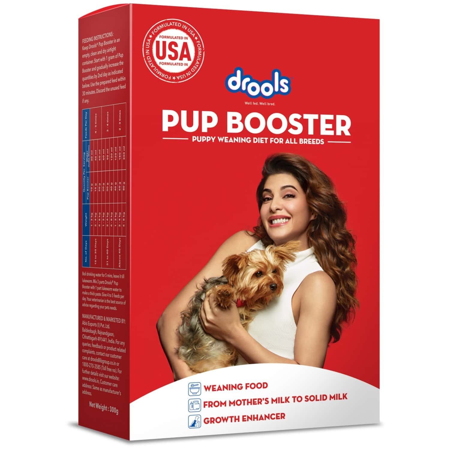 Pup Booster Puppy Weaning Diet For All Breeds 300g