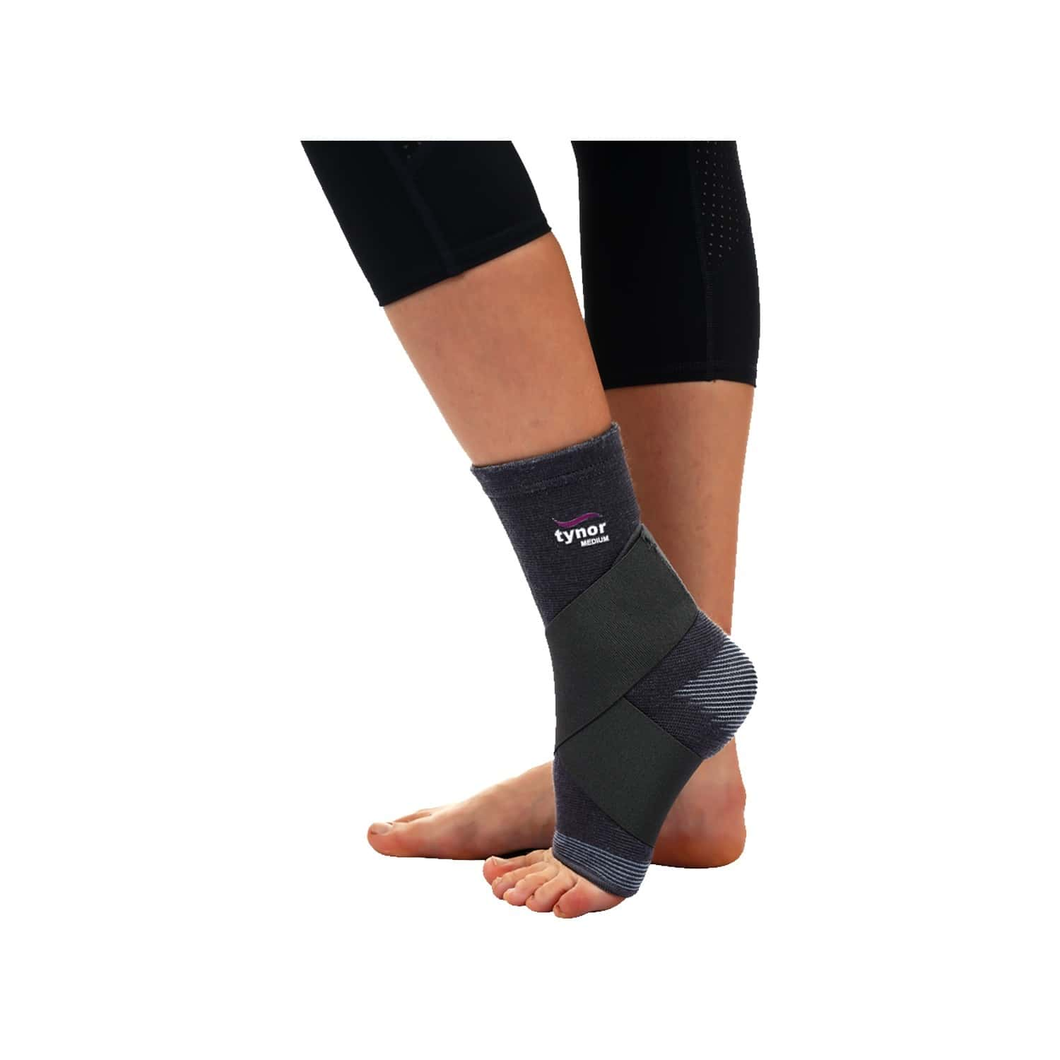 Tynor Ankle Binder ( Compression,pain Relief) - Small