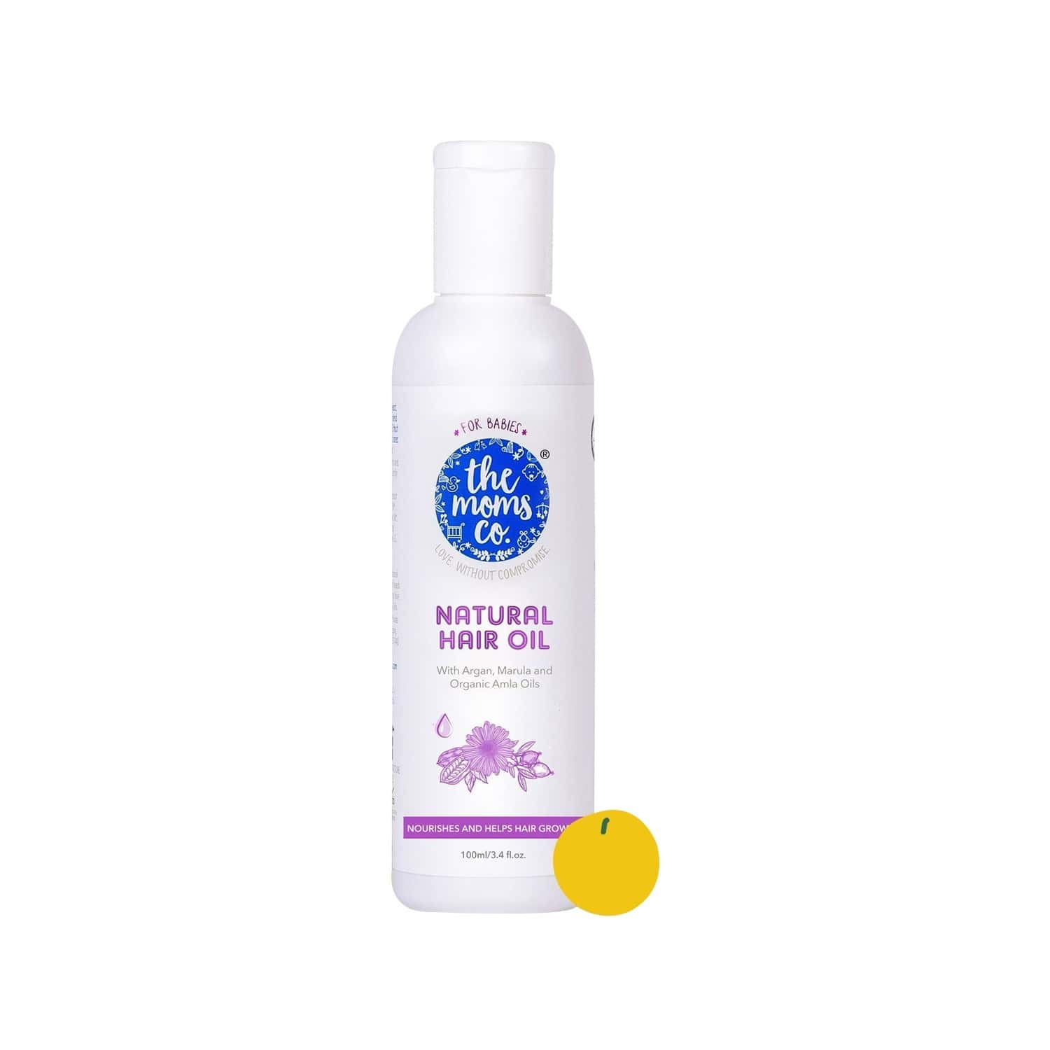 The Moms Co. Natural Baby  Hair Oil  Bottle Of 100 Ml