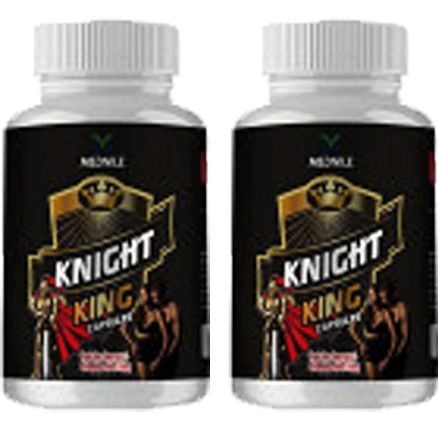 Mednile Knight King Capsule {buy 2 Get 1 Free}(60caps Pack Of 2)physical Strength And Stamina In Men