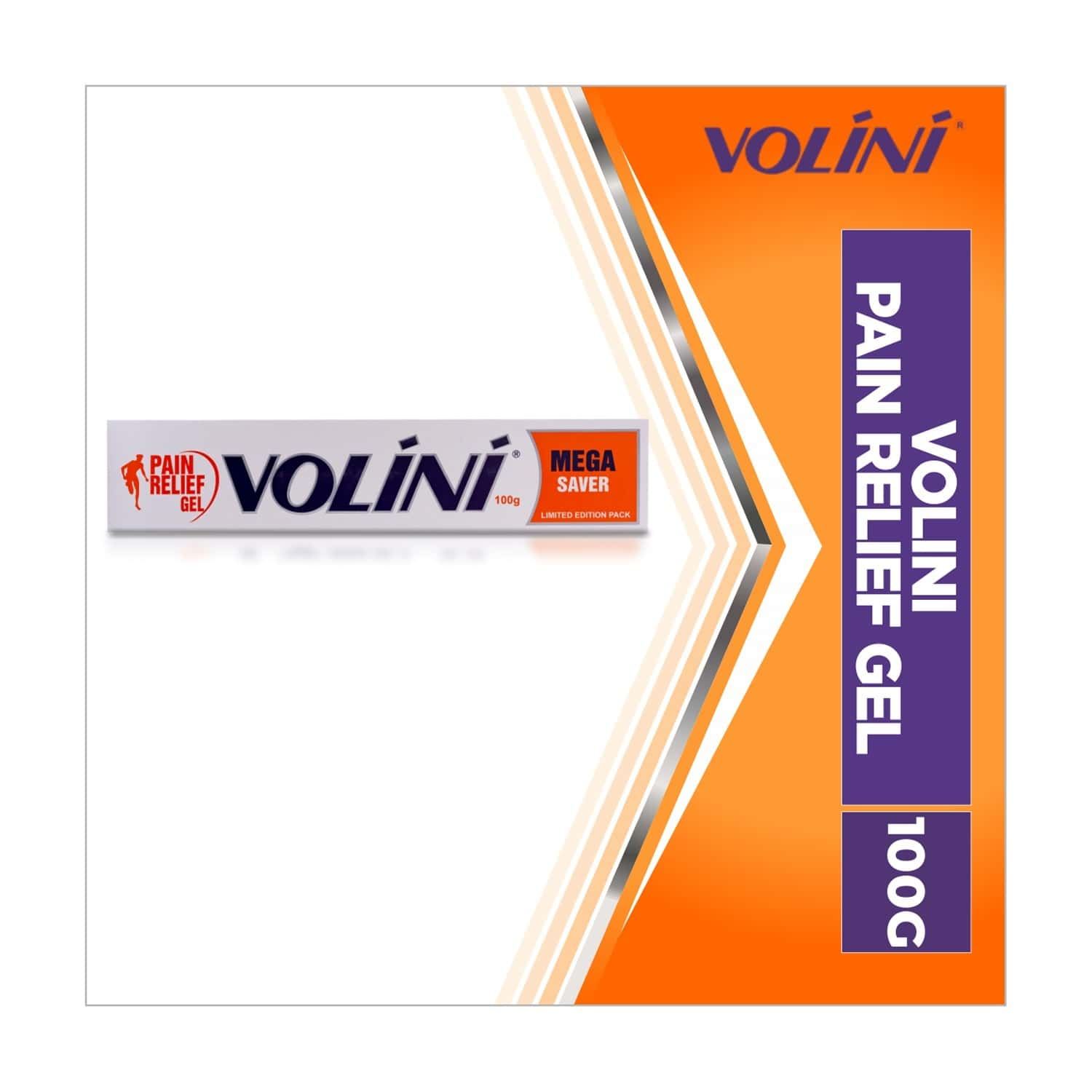 Volini  Pain Relief Gel  Tube Of 100 G