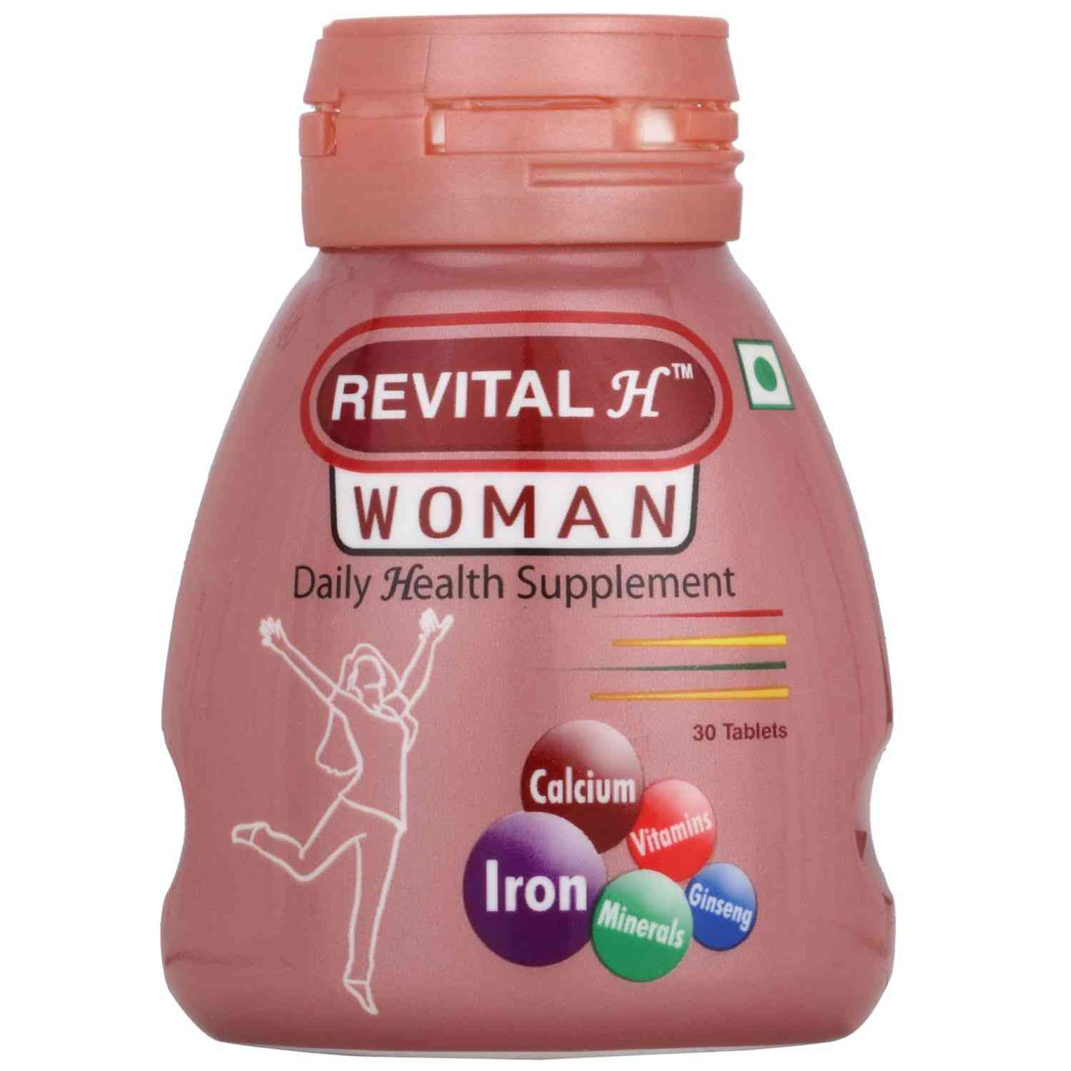 Revital H Woman Health Supplement Tablets Bottle Of 30