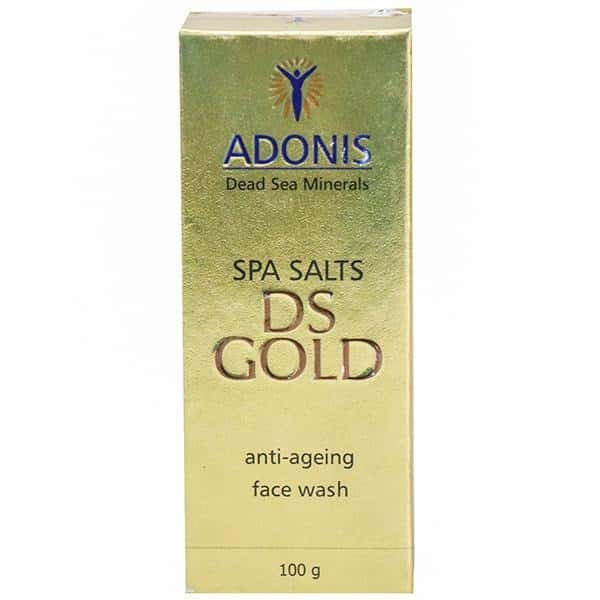 Ds Gold  Anti Ageing Face Wash  Bottle Of 100 G