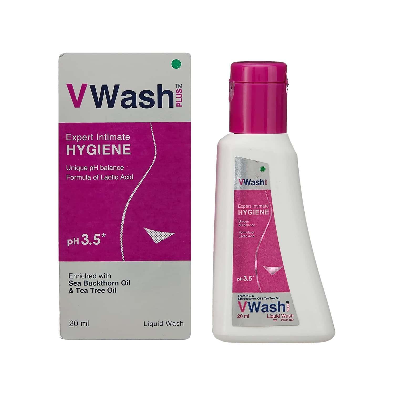 Vwash Plus Ph 3.5 Liquid Wash 20ml